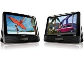 Factory Refurbished PET9422 9 inch Dual Screen Portable DVD Player