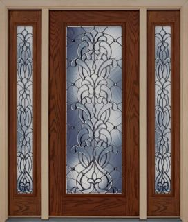 Exterior Stylish Entry Door Chocolate Double Door Brand New