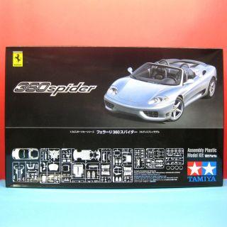 Tamiya 1 24 Ferrari 360 Spider Model Kit 24307