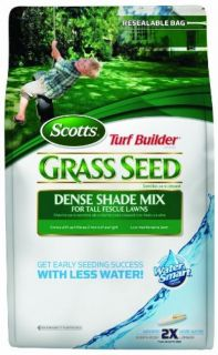 Dense Shade Grass Seed Mix for Tall Fescue Lawns 7 Pound