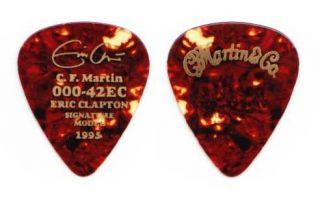 Eric Clapton Signature C F Martin Guitar Pick 2 1995