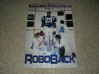 Eric Dickerson Indianapolis Colts Los Angeles Rams Roboback 20x30