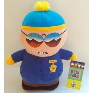 South Park Movie Police Officer Cop Cartman Plush Doll