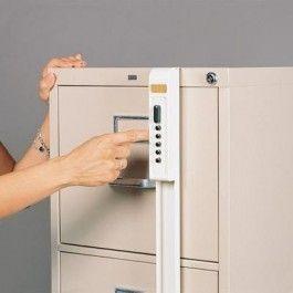 ILCO External 2 Drawer Keyless File Cabinet Lock