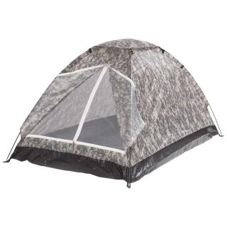Camouflage 2 Person Tent 79x48 Hunting Camping Shelter Storage Bag