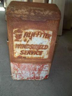 Gas Station Service Island Paper Towel Dispenser Box Film Fyter