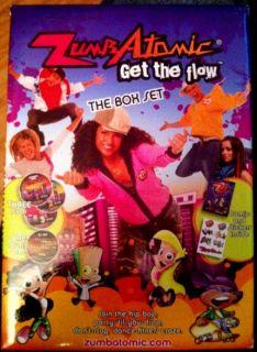 Zumba Fitness Zumbatomic Kids DVD Box Set 3 DVD CD