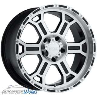 16x8 V Tec Raptor 8x165 1 8x6 5 6mm Black Machined Wheels Rims inch 16