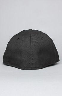 Dissizit THe Collegiate Bear New Era Cap in Black White Red