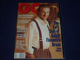July GQ Gentlemens Quarterly Magazine Ralph Fiennes II 8983