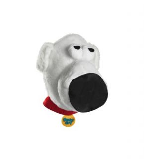 Family Guy Brian Dog Headpiece Costume Adult One Size