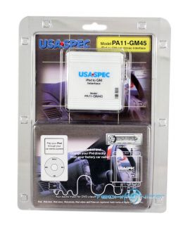 usa spec ipod iphone integration cable interface for gm car factory