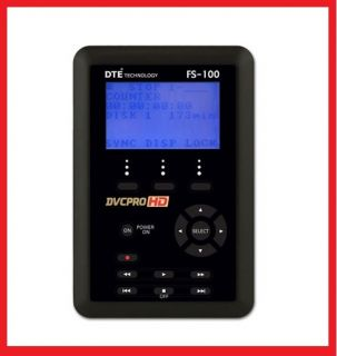 Panasonic FS 100 250 Portable FireStore 250GB Hard Drive Recorder for