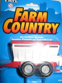 Ertl 1 64 Scale Toy Farm Country Dry Fertilizer Spreader 4350