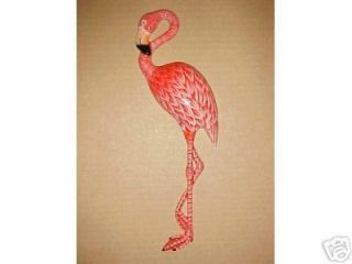 10 Flamingo Wall Decor Tropical Fish Nursery Bath Spa