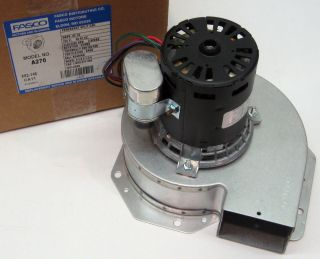 A270 Fasco Blower Furnace Draft Inducer Motor fits Trane 7062 5033