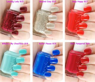 Essie 2012 Winter Collection Leading Lady Pick Up Any 2 Colors Full