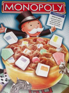 Kelloggs Limited Edition Monoply Bold Graphics Find It Game