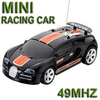 Mini Radio Remote Control RC Racing Car Toy Vehicle Coke Can Fast