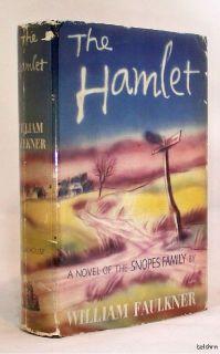The Hamlet ~ William Faulkner ~ 1st/1st ~ Snopes 1 ~
