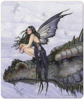 Dragon Skies Fairy Selina Fenech Fantasy Art Mouse Pad