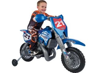 6V Febercross motox Electric Kid Ride Toy Dirt Bike