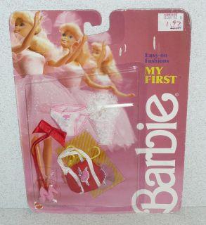 Mattel Barbie Doll MY FIRST BARBIE EASY ON FASHION *NRFC 1987