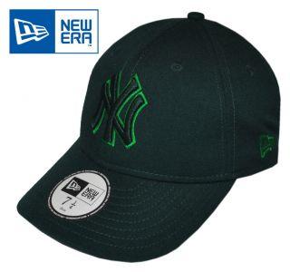 New Era NY Yankees Midnight Green Baseball Cap Hat 7 1 4 AC519