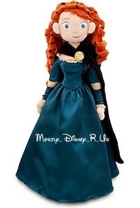 NEW  Exclusive Brave Merida Soft Plush Toy Doll 20 New