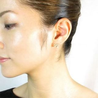 Sydney Evan Bow Diamond Earrings Fine Gold Jewelry