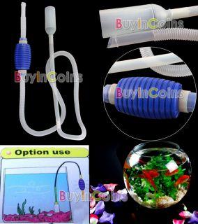 Siphon Vacuum Pump Gravel Cleaner Aquarium Fish Tank