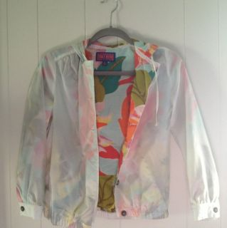 NWOT Tracy Feith For Target XS Windbreaker Jacket Rain Lightweight
