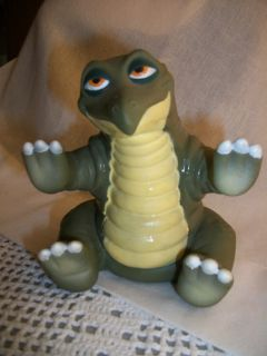 LAND BEFORE TIME SPIKE RUBBER DINOSAUR HAND PUPPET PIZZA HUT 1988