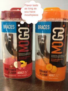 MOGO Braces Flavored Performance Series Mouthguard Mouthpiece