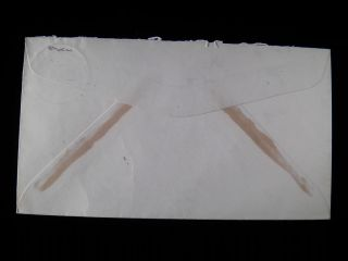 Pitcairn Island to St Paul Minnesota New Zealand Postal Agency Cancel
