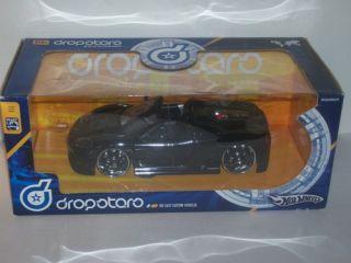 hot wheels dropstars 1 24 black ferrari 360 spider