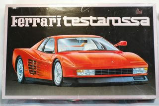 FUJIMI 1984 FERRARI TESTAROSSA 1 16 MODEL KIT KIT NO RC 104 3800