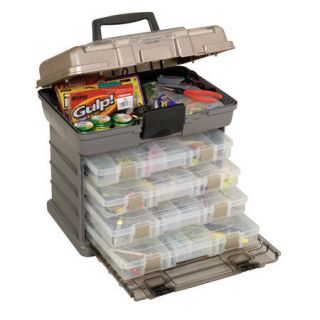 Plano 1373 with 4 stow boxes for fishing tackle, tools, or collectable