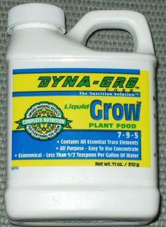 Dyna Gro Liquid Bloom Grow Fertilizers 8oz