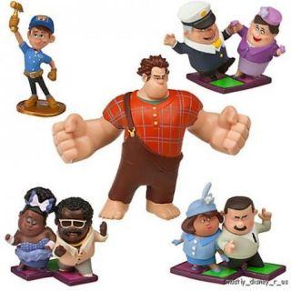New  Wreck It Ralph Fix It Felix PVC Figurine Playset Set