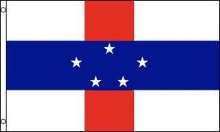Antilles Flag Dutch Country Banner Caribbean Island Pennent 3x5