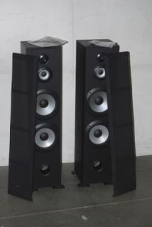 Sony Left Right Floor Standing Speakers Black SSF7000