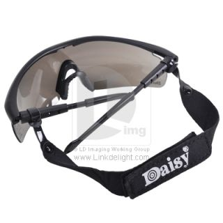 UV400 4 Lens Military Safety Eye Protection Goggle Glasses DH099