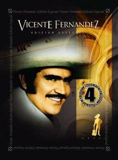 VICENTE FERNANDEZ 4 PACK VOL 1 NEW DVD BOX SET