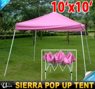 EZ Outdoor Sierra Pop Up Canopy Party Tent Gazebo Tailgating Tent