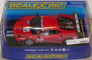 ScaleXtric Ferrari F430 GT #63 Red 132 scale analog slot car DPR New
