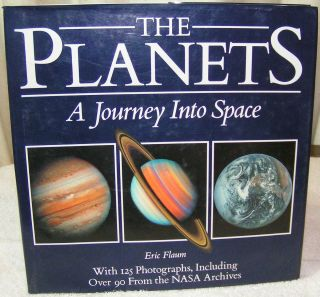 Planets A View from Space by Eric Flaum 1988 Hardcover Science Book