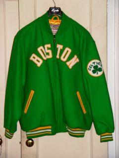 Mitchell Ness Boston Celtics NBA Basketball Varsity Wool Jacket 2XL
