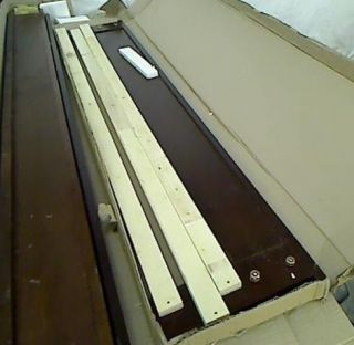 FLEMING QUEEN BED RAILS AND FOO BOARD ONLY