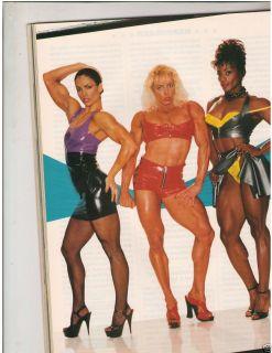 Flex Bodybuilding Muscle Fitness Magazine Latex Sharon Bruneau 3 95